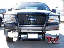 Tac   Ford Ranger Edge Xlt Grill Guard Black Brush Nudge Bull Bar