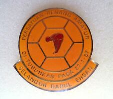 SWIMMING MALAYSIA Badge 1987. Rare Pin, Badge