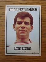 1970/1971 A.&B.C. Gum Trade Card: Footballer [Orange Back] No.35 Nottingham Fore
