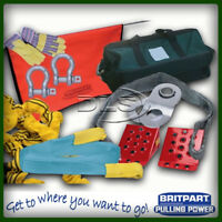 """BRITPART""""PULLING POWER"""" DELUX PRO WINCH RECOVERY KIT (DB1015)"""