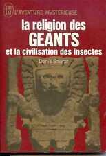 LA RELIGION DES GEANTS ET LA CIVILISATION... - Denis Saurat - 1969 - AM A.206