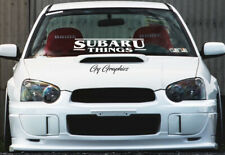 Windshield decal car sticker banner graphics window for or fit Subaru Cars