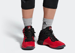 Adidas Mad Bounce 2018 Men's Basketball Shoes Casual Sneakers AH2693 Scarle Red