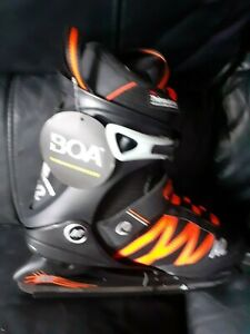 K2 Skates Men's Skates F.I.T. Ice BOA Colour Size: UK 7 EUR 40.5 US 8 Ice Black,