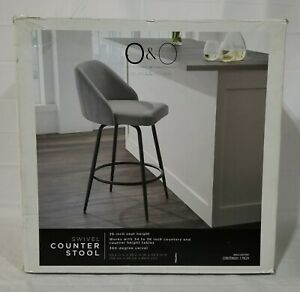 O&O by Olivia & Oliver™ Cherry Hill 26-Inch Bar Stool in Black