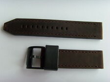 Fossil repuesto original pulsera de cuero ch2782 uhrband watch Strap Braun 22 mm Brown