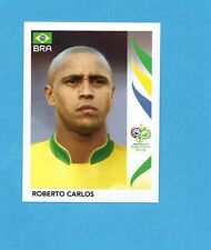 PANINI-GERMANY 2006-Figurina n.385- ROBERTO CARLOS - BRASILE -NEW BLACK