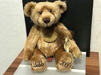Aurora Millennium Teddy Bär 38 cm Top Zustand !!