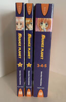 Orange Planet Complete Volumes 1 - 5 Manga Graphic Novel Book Lot English