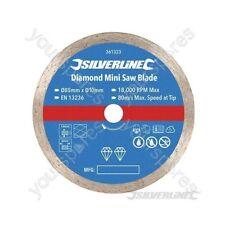 Diamond Mini Saw Blade - 85mm Dia - 10mm Bore