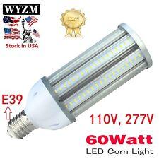 60W LED Corn Light Bulb E39 Large Mogul Base 400W Equivalent 5500K Daylight