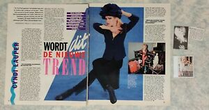 CYNDI LAUPER lot de presse clippings pack collection magazines
