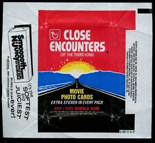 Close Encounters Of The Third Kind, Advert 3, Trading Cards Wrapper #W27