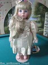 """Goebel musical doll """"Hope"""" by Betty Jane Carter plays """"You are my sunshine"""" 19"""""""