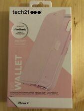 Tech21 Evo Wallet iPhone X Case