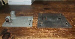 South Bend Drill Press 14-F2A, Motor Mount Pivoting w/ Custom Adapter Plate