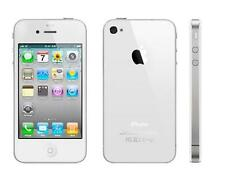 "Apple iPhone 4S-8GB 16GB 32GB GSM""Factory Unlocked""Smartphone Black White Phone*"