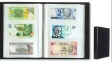 More details for lighthouse black leatherette banknote album 300 notes 100 pages