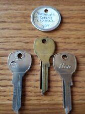 Lot Of 3 Na24 Key Blanks 1069Lc, Ntr-1D Ncr10 Fits National Brommer K395