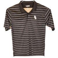 Chicago White Sox MLB Genuine Merchandise Men's XL SS Golf Polo Shirt Black