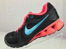 Nike Reax Running Sneakers - Black Mesh Cross Training Athletic Women's Size 7