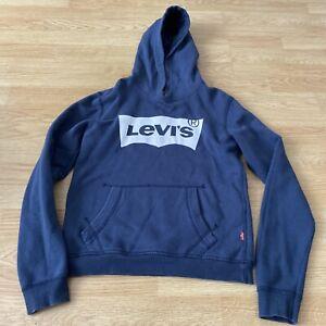Levi's Navy Blue Hoodie Kids Boys Age 12 Years