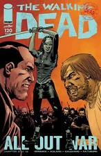The Walking Dead #120 Image Comic Book First Print All Out War Part 6 Michonne