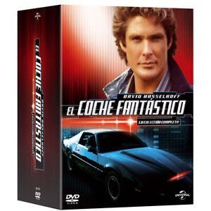 El Coche Fantastico SERIE COMPLETA EN DVD CASTELLANO EDICION ESPAÑA PRECINTADA