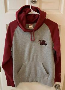 USC South Carolina Gamecocks Hoodie Sweatshirt Junior Girls XL Gray Red Soffe