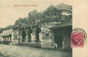 Sri Lanka (Ceylon) - Colombo, tempio - 1904