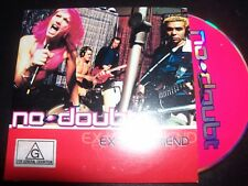 No Doubt / Gwen Stefani Ex-Girlfriend Australian Card Sleeve CD Single