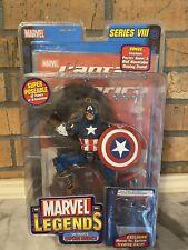 Marvel Legends Series VIII 8 Ultimate Captain America Toy Box VHTF RARE