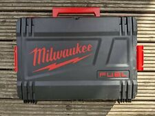 Milwaukee Fuel Box. Empty stacking tool box.