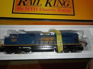 MTH Railking O Scale CSX SD70ACe Diesel Engine Proto-Sound 2 CSX 4850
