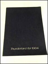 1964 Ford Thunderbird 20-page BIG Original Vintage Car Sales Brochure Catalog