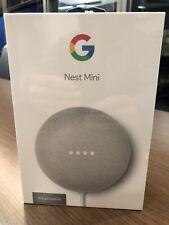 Google Nest Mini (2nd Generation) Smart Speaker - Chalk - SEALED BOX, BRAND NEW