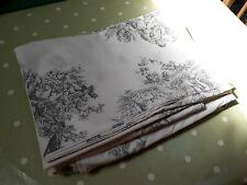 Next King Duvet Cover Pillowcases Bedding Set NEW Vintage shabby chic grey white