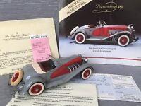 Danbury Mint 1935 Duesenberg SSJ 1:24 Scale Die-cast W/Paperwork