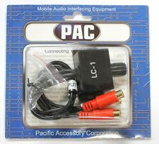New PAC LC-1 Remote Bass Amplifier Level Controller Knob Stereo RCA Input Output
