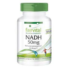 NADH 50 mg - 60 zeitverzögerte DRcaps® hochdosiert | Energie | VEGAN | fairvital