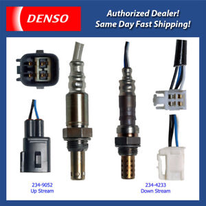 Denso Oxygen Sensor Up/Down Set 2PCS for 05-08 Toyota Corolla/ Matrix 1.8L 1ZZFE