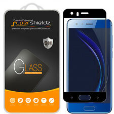 2X Supershieldz Huawei Honor 9 Full Cover Tempered Glass Screen Protector Black