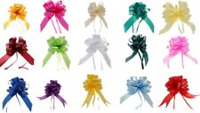Pull Bows 30 mm Ribbon Flower Wedding Gift Wrap Birthday Hampers Decoration