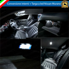 KIT FULL LED INTERNI NISSAN MURANO MK1 I CONVERSIONE COMPLETA + LUCI TARGA