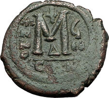 Justin Ii & Queen Sophia 565Ad Constantinople Medieval Byzantine Coin i59422