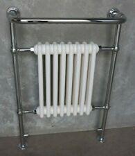 Carron Chrome Traditional Bathroom Towel Rail or Towel Warmer-  Ex Display
