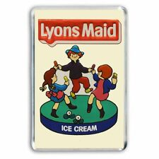WHO REMEMBERS the LYONS MAID ICE CREAM SIGN JUMBO COLOUR Fridge/ Locker Magnet