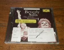 The Great Recordings 2 CD set Beverly Sills Bellini Mozart Verdi Moore Lehar OOP