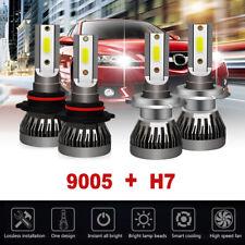 H7+9005 Mini LED Headlight Bulbs Combo Hi/Lo Beam For Kia Optima Forte 2017 2018