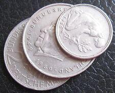 Lotto  Repubblica Federale Tedesca 2 Marchi Max Planck- ADENAUER  e 50 pfng 1168
